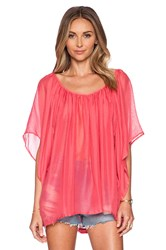 L Space Summer Nights Cover Up Coral