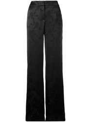Theory High Rise Palazzo Trousers Blue