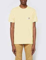 Carhartt S S Pocket T Shirt In Lion