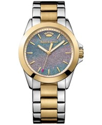 Juicy Couture Women's Malibu Two Tone Stainless Steel Bracelet Watch 36Mm 1901286 No Color
