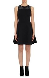 Lisa Perry Wow Fit And Flare Dress Black