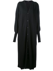 Y's Long Cardigan Black