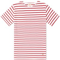 Armor Lux 73842 Mariniere Tee Red