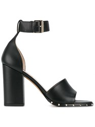 Valentino Garavani Thick Heel Sandals Black