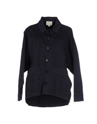 Band Of Outsiders Coats And Jackets Jackets Women Dark Blue