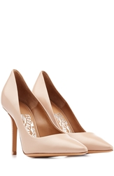 Salvatore Ferragamo High Heel Leather Pumps