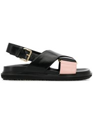 Marni Fussbet Sandals Black