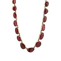 Judy Geib Ruby Necklace Red