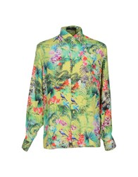 I.D.I.B. Shirts Shirts Men Acid Green
