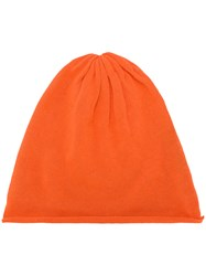 Unconditional Knit Beanie Yellow And Orange