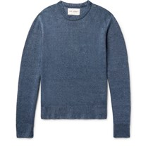 Our Legacy Hemp Sweater Storm Blue