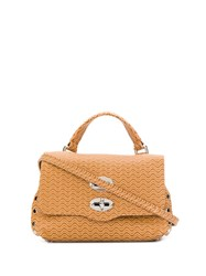 Zanellato Cuba Satchel Bag Brown