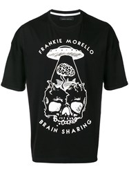 Frankie Morello Graphic Relaxed T Shirt Black