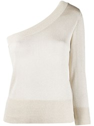 Federica Tosi One Shoulder Glitter Jumper 60