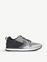 Paul Smith Rapid Runner Low Top Woven Trainers Grey Other
