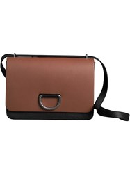 Burberry The Medium Leather D Ring Bag Brown