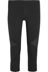 Theory Pyrite Cropped Stretch Leggings Black