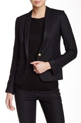 Zadig And Voltaire Volta Wool Blend Blazer Gray
