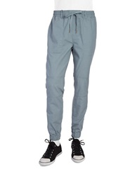 Original Penguin Textured Cotton Pants Trooper Grey