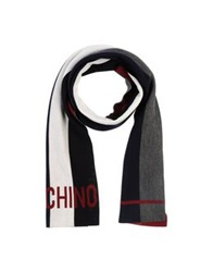 Moschino Oblong Scarves Light Green