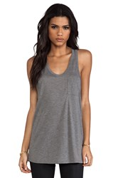 Alexander Wang Classic Tank Pocket Gray