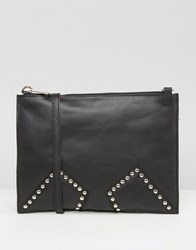 Urbancode Black Cross Body With Studded Inserts Black