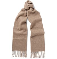 Johnstons Of Elgin Cashmere Scarf Beige