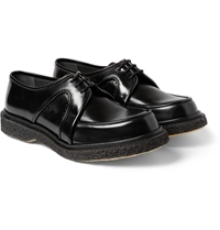 Adieu Type 4 Crepe Sole Panelled Leather Derby Shoes