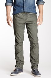 Stitch's Jeans Texas Straight Leg Corduroy Pant Green