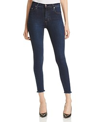 Nobody Cult Super Skinny Ankle Jeans In Pure Edge