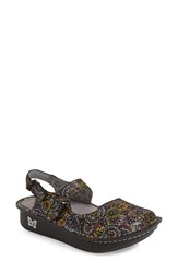 Women's Alegria 'Jemma' Platform Flat Spiro Multi Leather