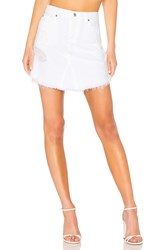 7 For All Mankind Skirt With Scallop Hem White Fashion 3