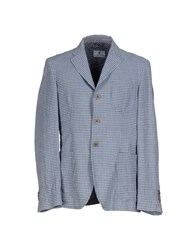 Cooperativa Pescatori Posillipo Suits And Jackets Blazers Men Grey