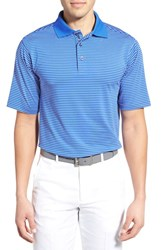 Men's Bobby Jones 'Edge Stripe Xh20' Stretch Golf Polo Marina