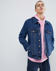 Brooklyn Supply Co. Co Denim Jacket In Overdye Blue