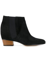Golden Goose Deluxe Brand Dana Boots Leather Suede Black