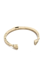 Giles And Brother Skinny Hooves Cuff Bracelet Antique Brass