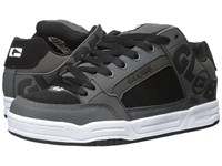 Globe Tilt Charcoal White Black Men's Skate Shoes Gray