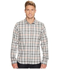 Mountain Hardwear Stretchstone Long Sleeve Shirt Grey Ice Men's Long Sleeve Button Up Gray