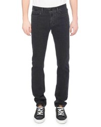 Berluti Washed Denim Straight Leg Jeans Dark Gray