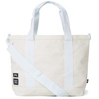 Stussy X Herschel Supply Co. Heavy Canvas Tote Bag White