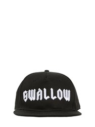 Mcq By Alexander Mcqueen Swallow Baseball Hat