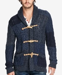 Denim And Supply Ralph Lauren Men's Toggle Cardigan Navy Mu