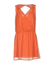 Axara Paris Short Dresses Orange