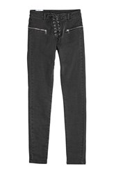 Zoe Karssen Jeans With Lace Up Front