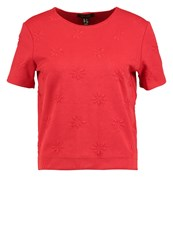 New Look Print Tshirt Bright Red