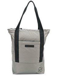 Stella Mccartney Logo Patch Shopper Bag Grey