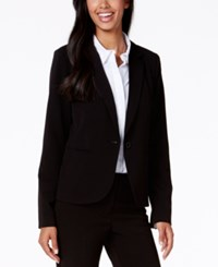Xoxo Juniors' One Button Blazer Black
