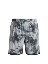 The Upside Base Trainer 2.0 Acid Print Shorts Black Multi