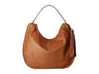 Vince Camuto Chana Hobo Chestnut Brown Black Hobo Handbags
